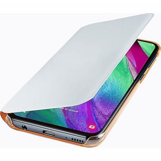Husa tip Book Samsung Wallet Cover EF-WA405PWEGWW Galaxy A40 (2019) Alba Samsung - 4