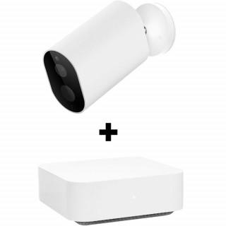 Camera Supraveghere Video Xiaomi Imilab EC2 CMSXJ11A Wireless Home Security FULL HD H.264 120 White (cu Gateway ) Xiaomi - 6