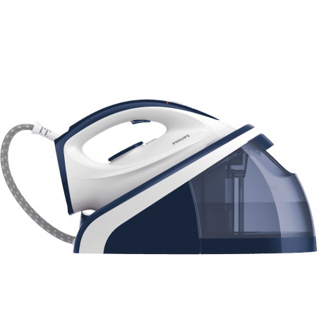 Statie de calcat Philips HI5916/20 2400W Talpa ceramica 100g/min Albastru Philips - 1