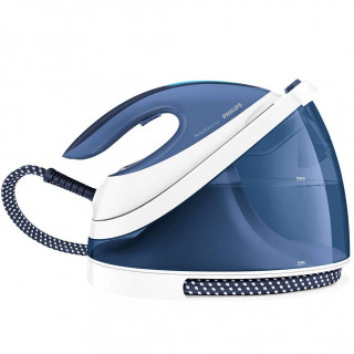 Statie de calcat Philips PerfectCare Viva GC7057/20 2400W 2l 6bari Talpa SteamGlide Plus Tehnologie OptimalTemp340g Alb/Bleu Phi