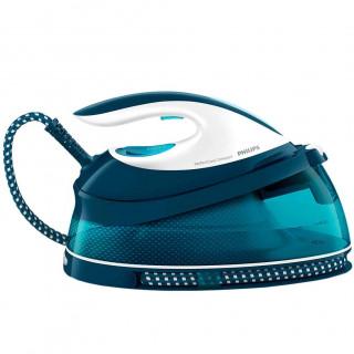 Statie de calcat Philips PerfectCare Compact GC7831/20 OptimalTemp Talpa SteamGlide 2400W 1.5l 330g/min Albastru Philips - 1