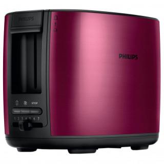Prajitor de paine Philips HD2628/00 950W 2 felii Rosu Burgundy Philips - 1