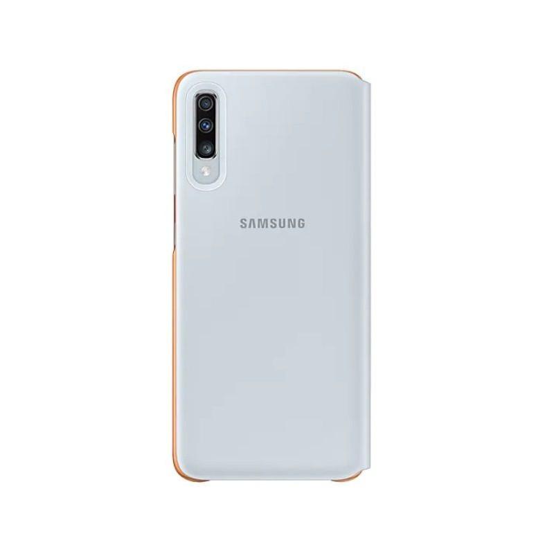 Husa tip Book Samsung Wallet Cover EF-WA705PWEGWW Galaxy A70 (2019) Alba Samsung - 1