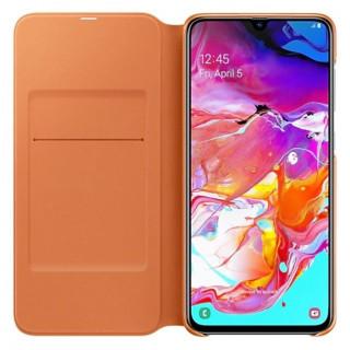 Husa tip Book Samsung Wallet Cover EF-WA705PWEGWW Galaxy A70 (2019) Alba Samsung - 3
