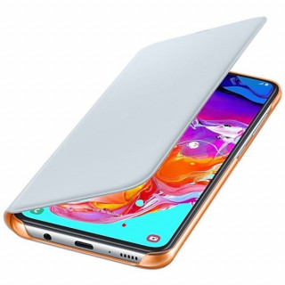 Husa tip Book Samsung Wallet Cover EF-WA705PWEGWW Galaxy A70 (2019) Alba Samsung - 4
