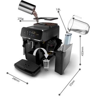 Espressor Automat Philips EP2221/40 Series 2000 1.8 l 15 bari negru Philips - 4