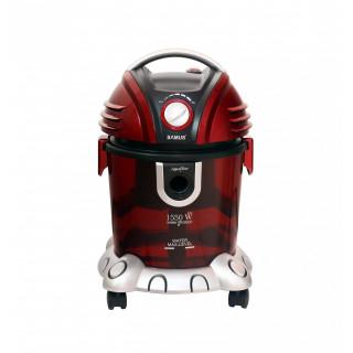Aspirator cu filtrare prin apa Samus Aquafilter Red 1550W functie suflare aer, Rosu Samus - 3