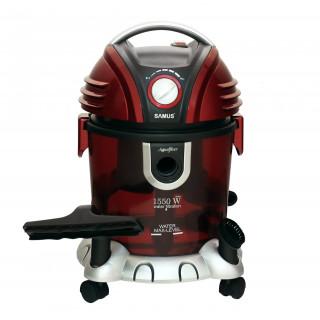 Aspirator cu filtrare prin apa Samus Aquafilter Red 1550W functie suflare aer, Rosu Samus - 4