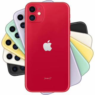 Telefon mobil Apple iPhone 11 128GB Red Apple - 1