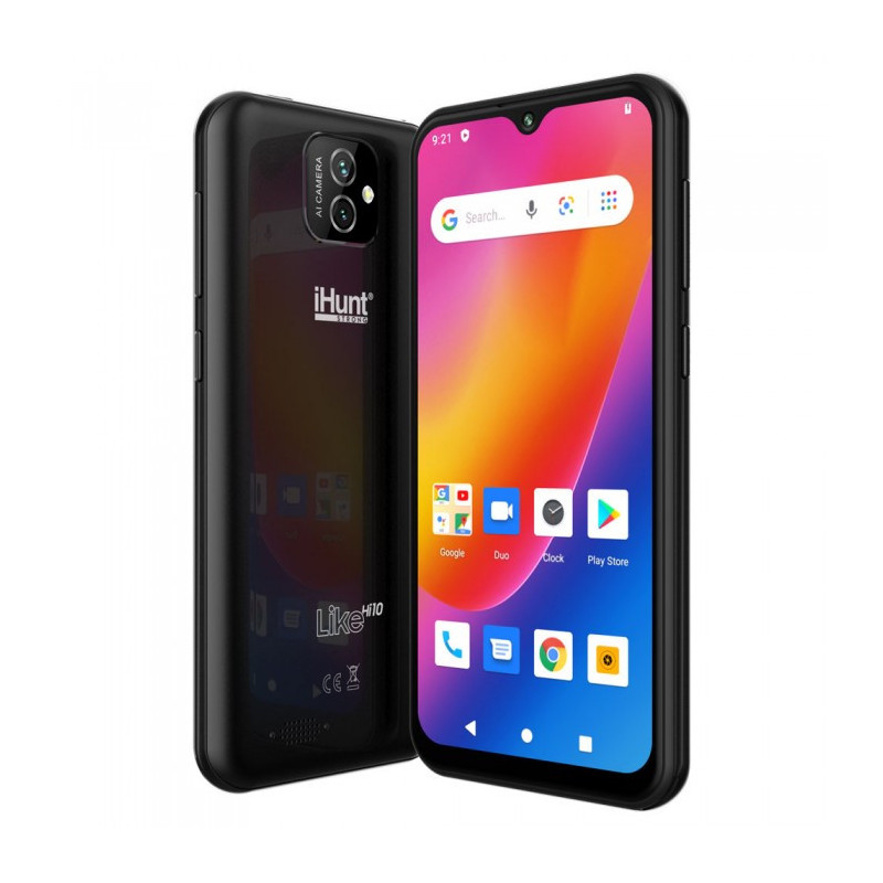 Telefon mobil iHunt Like Hi10 16GB Dual Sim 3G Black iHunt - 1