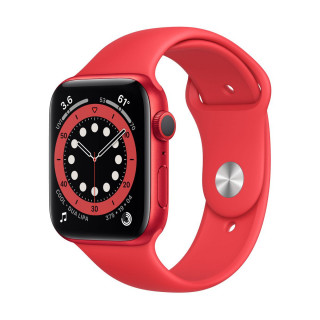 Apple Watch 6 GPS RED Carcasa Aluminium 40mm Red Sport Band Apple - 1