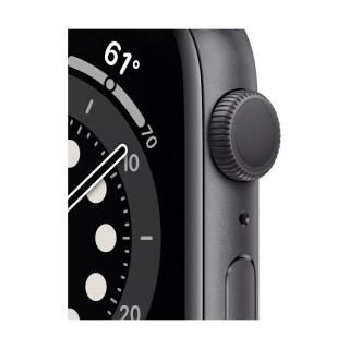Apple Watch 6 GPS Space Gray Carcasa Aluminium 44mm Black Sport Band Apple - 1