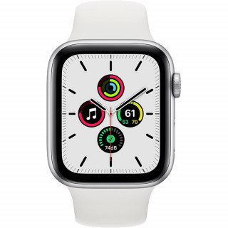 Apple Watch SE Silver GPS Carcasa Aluminium 40mm White Sport Band Apple - 1