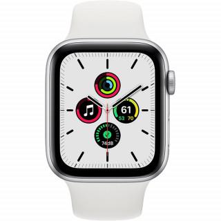 Apple Watch SE Silver GPS Carcasa Aluminium 44mm White Sport Band Apple - 1