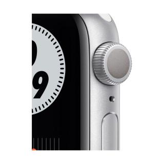 Apple Watch SE Nike GPS Silver Carcasa Aluminium 40mm Pure Platinum/Black Nike Sport Band Apple - 1