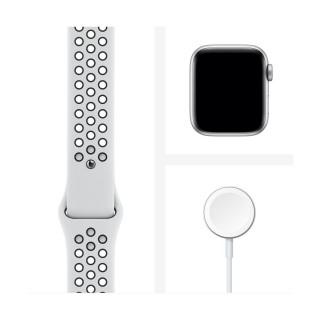 Apple Watch SE Nike GPS Silver Carcasa Aluminium 40mm Pure Platinum/Black Nike Sport Band Apple - 6