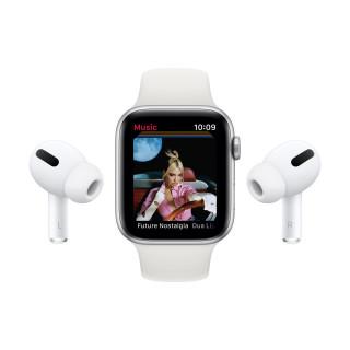 Apple Watch SE Nike GPS Silver Carcasa Aluminium 40mm Pure Platinum/Black Nike Sport Band Apple - 7