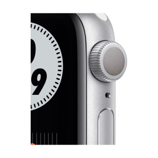 Apple Watch SE Nike GPS Silver Carcasa Aluminium 44mm Pure Platinum/Black Nike Sport Band Apple - 1