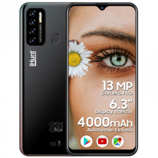 Telefon mobil iHunt S21 Plus 2021 Dual SIM 3G Black iHunt - 1