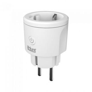 Priza inteligenta iHunt Smart Plug Meter WIFI Alb iHunt - 4