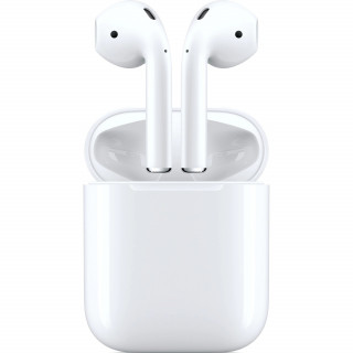 Casti Apple AirPods 2 Charging Case White Apple - 1