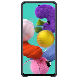 Husa Samsung Silicone Cover EF-PA515TBEGEU Galaxy A51 Neagra Samsung - 4