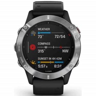 Ceas Smartwatch Garmin Fenix 6 47mm Silver/Black Garmin - 1