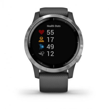 Ceas Smartwatch Garmin Vivoactive 4 45mm Gray Silver Garmin - 1
