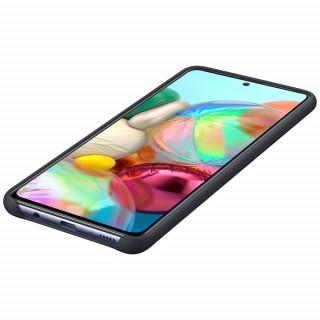 Husa Samsung Silicone Cover EF-PA715TBEGEU Galaxy A71 Neagra Samsung - 3
