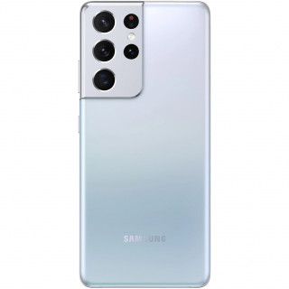 Telefon Mobil Samsung Galaxy S21 Ultra G998 5G Dual Sim 256GB 12GB Ram Silver Samsung - 1