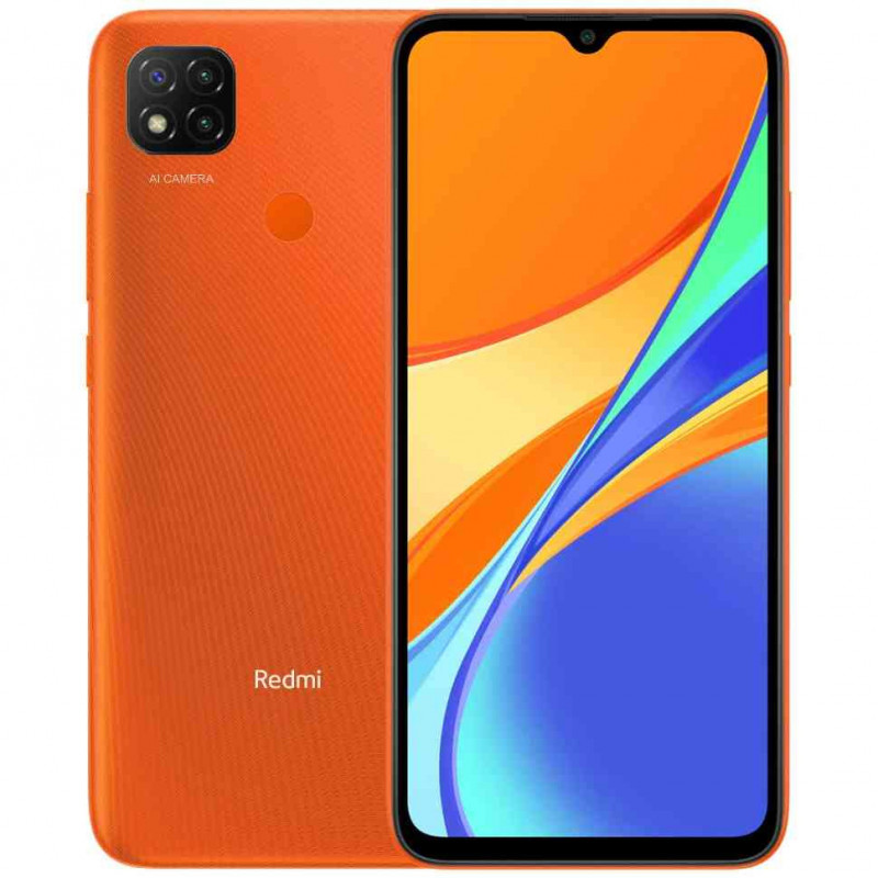 Telefon Mobil Xiaomi Redmi 9C 4G Dual Sim 3GB RAM 64GB Orange Xiaomi - 1