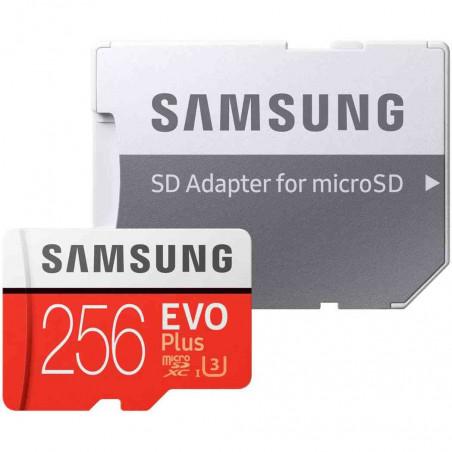 Card de Memorie Samsung MB-MC256HA MicroSDXC Evo Plus Class 256GB With adapter Samsung - 1