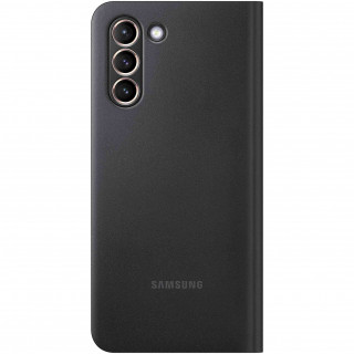 Husa de protectie Samsung Smart LED View Cover pentru Galaxy S21 Black Samsung - 1