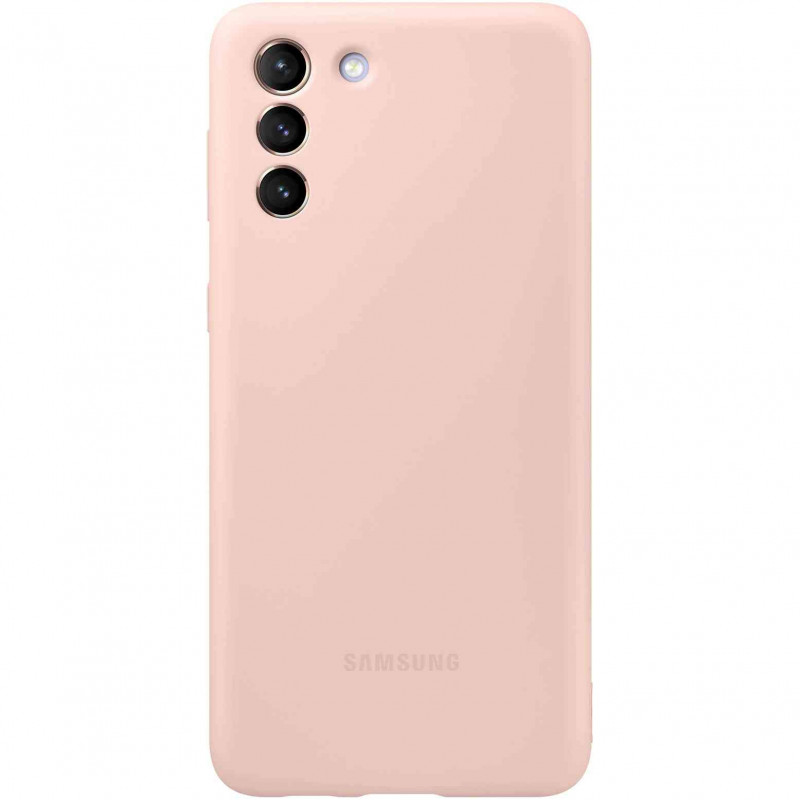 Husa de protectie Samsung Silicone Cover pentru Samsung Galaxy S21 Plus Pink Samsung - 1