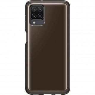 Husa de protectie Samsung Soft Clear Cover pentru Samsung A12 Black Samsung - 1