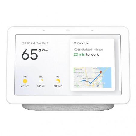 Boxa inteligenta Google Nest Hub White cu Display si Google Assistant Google - 1