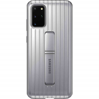 Husa de Protectie Samsung Protective Standing Cover pentru Galaxy S20 Plus Silver Samsung - 1