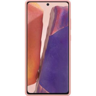 Husa de Protectie Samsung Silicone pentru Galaxy Note 20 Copper Brown Samsung - 1