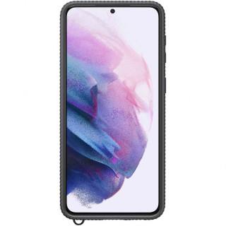 Husa de Protectie Samsung Clear Protective Cover pentru Galaxy S21 Plus Black Samsung - 1