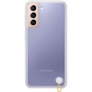 Husa de Protectie Samsung Clear Protective Cover pentru Galaxy S21 White Samsung - 1