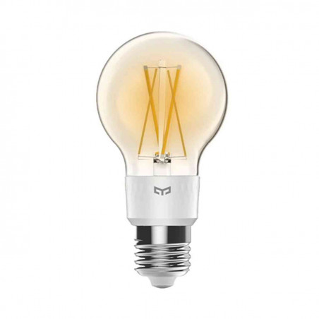 Bec LED inteligent cu Filament Yeelight Smart Wireless 6W Lumina Calda Compatibil cu Google Assistent Amazon Alexa Apple HomeKit