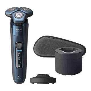 Aparat de Barbierit Electric Umed şi Uscat Philips S7786-55 Tehnologie SkinIQ Albastru Philips - 1