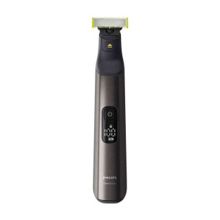 Aparat Philips OneBlade Face&Body QP6550-30 Pieptene cu 14 Lungimi Afisaj LED Utilizare Umeda si Uscata Crom Philips - 1