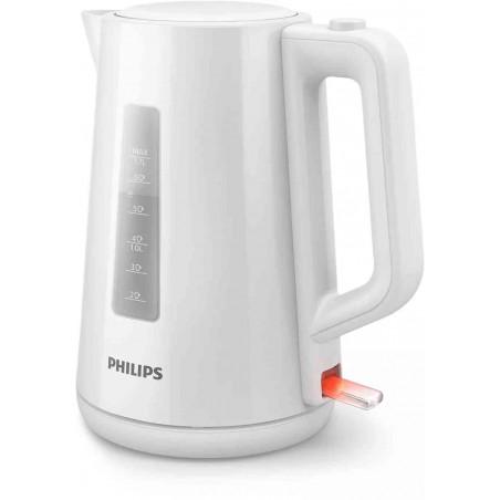 Fierbator Philips HD9318-00 1.7L Capac cu Resort Plastic Indicator Luminos Alb Philips - 1