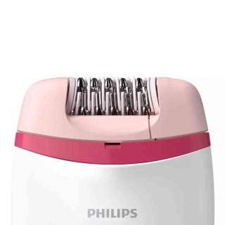 Epilator Philips Satinelle BRE235-00 2 Viteze Cap de Epilare Lavabil Alb Philips - 1