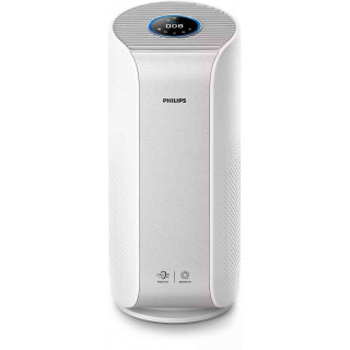 Purificator de Aer Philips AC3055-50 Feedback Real Privind Calitatea Aerului Conectivitate Bluetooth Afisaj Digital Alb Philips