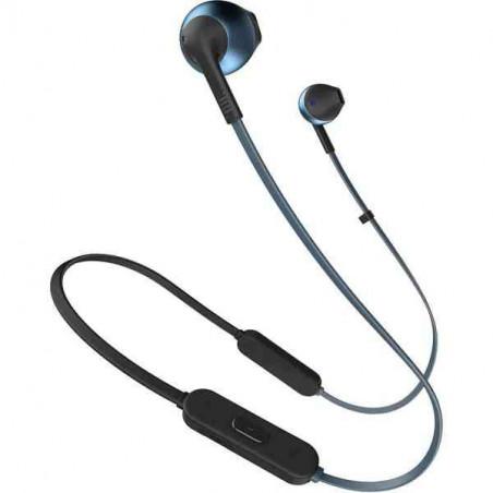 Casti Audio In-ear JBL T205 Wireless Bluetooth Hands-free Call Pure Bass Sound 6h Albastru JBL - 1