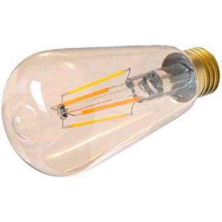 Bec WiFi Filament Tellur TLL331191 E27 6W Fumuriu Lumina Alba-Calda Reglabil Tellur - 1
