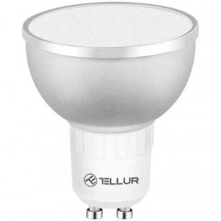 Bec WiFi LED Tellur TLL331201 GU10 5W Lumina Alba-Calda-RGB Reglabil Tellur - 1