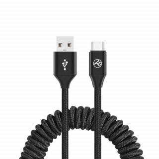 Cablu Tellur Extensibil USB to Type-C 3A 1.8m Negru Tellur - 1